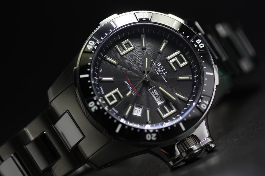 BALL WATCH ボール・ウォッチ エンジニア・ハイドロカーボン・エアボーン自動巻き腕時計 スプリングロック耐震システム 並行輸入商品ARjL534