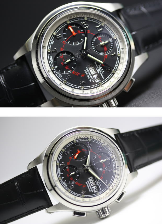 2726a508621 BALL WATCH pulse meter COSC chronometer self-winding watch watch   tritium    micro gas light   parallel import goods made in Switzerland