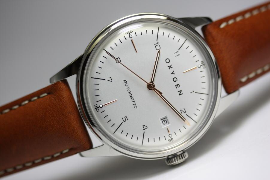 フランスのOXYGEN【オキシゲン】City Legend40自動巻き腕時計/デザインウォッチ/男女兼用腕時計/正規代理店商品