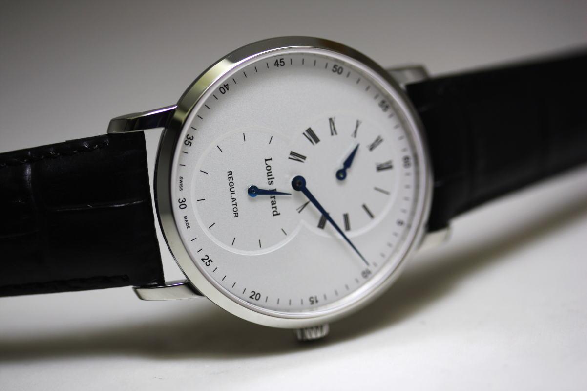 スイス製Louis Erard【ルイ・エラール】Excellence【エクセレンス】レギュレーター手巻き腕時計/正規品