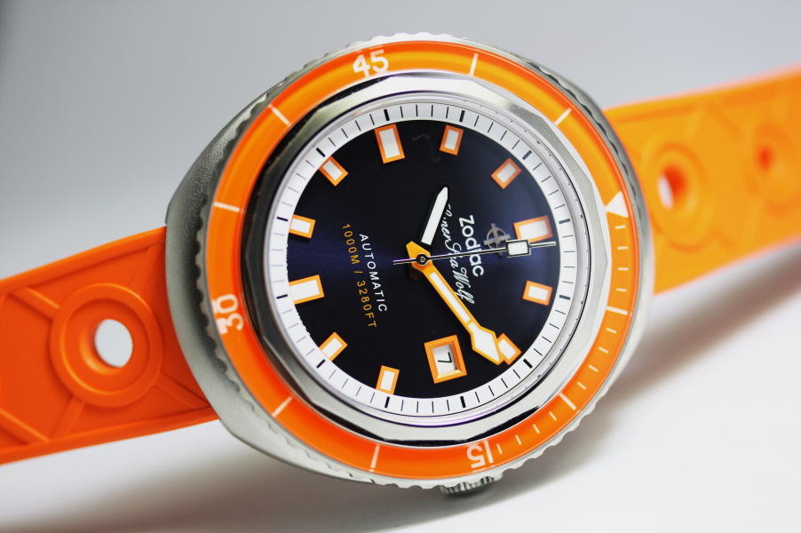 スイス製ZODIAC【ゾディアック】Super Sea Wolf68【シーウルフ】自動巻き腕時計1000m防水/正規代理店商品