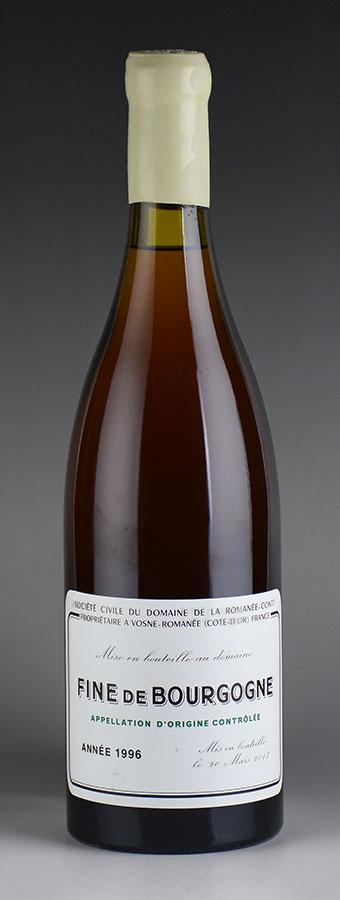 [1996] 700 ml of ドメーヌ de la Romanee Conti DRC フィーヌ de Bourgogne
