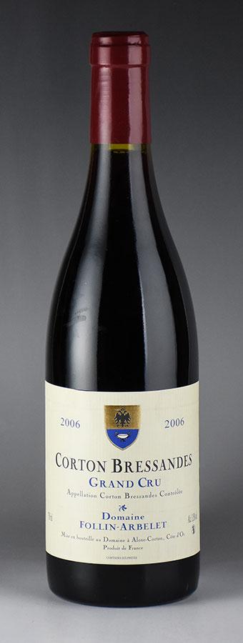 [2006] 弗林·艾贝勒 科尔登布利桑德斯干红葡萄酒 Follin Arbelet Corton Bressandes