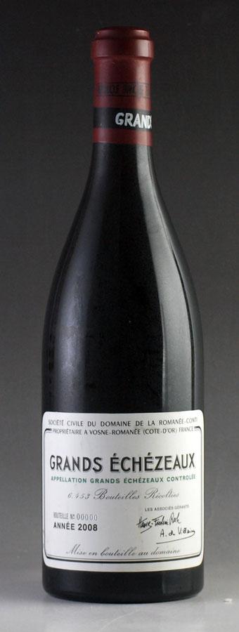 [2008] ドメーヌ・ド・ラ・ロマネ・コンティ DRC グラン・エシェゾー[のこり1本]