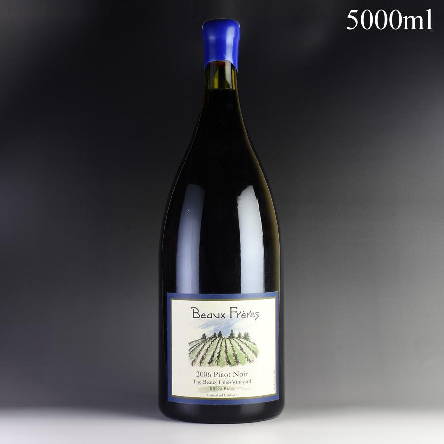 [2006] ボー・フレール ピノ・ノワール ボー・フレール・ヴィンヤード リボン・リッジ 5000ml ※ロウキャップ割れ[のこり1本]
