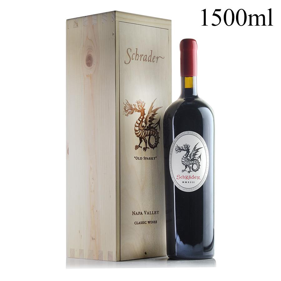 シュレーダー カベルネ・ソーヴィニヨン オールド スパーキィ 2013 マグナム 1500ml 木箱入り シュレイダー カベルネソーヴィニヨン カリフォルニア 赤ワイン