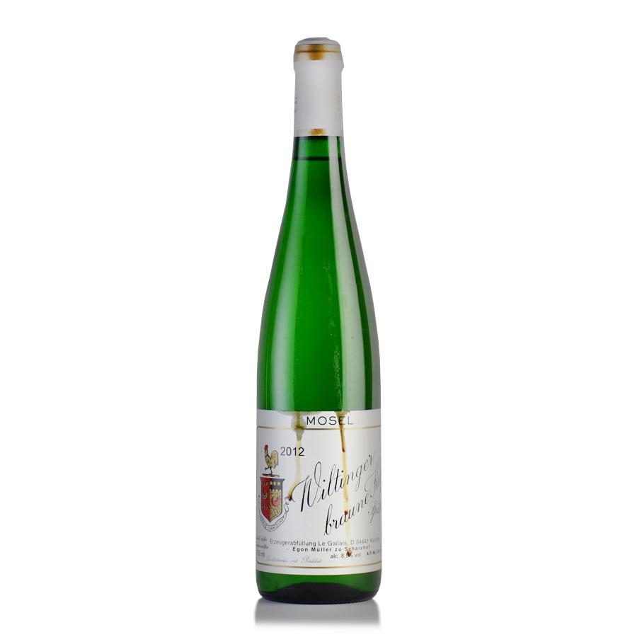 [2012] エゴン・ミュラー ヴィルティンガー ブラウネクップ シュペートレーゼ ※液漏れEgon Muller Wiltinger Braune Kupp Spatlese 750ml