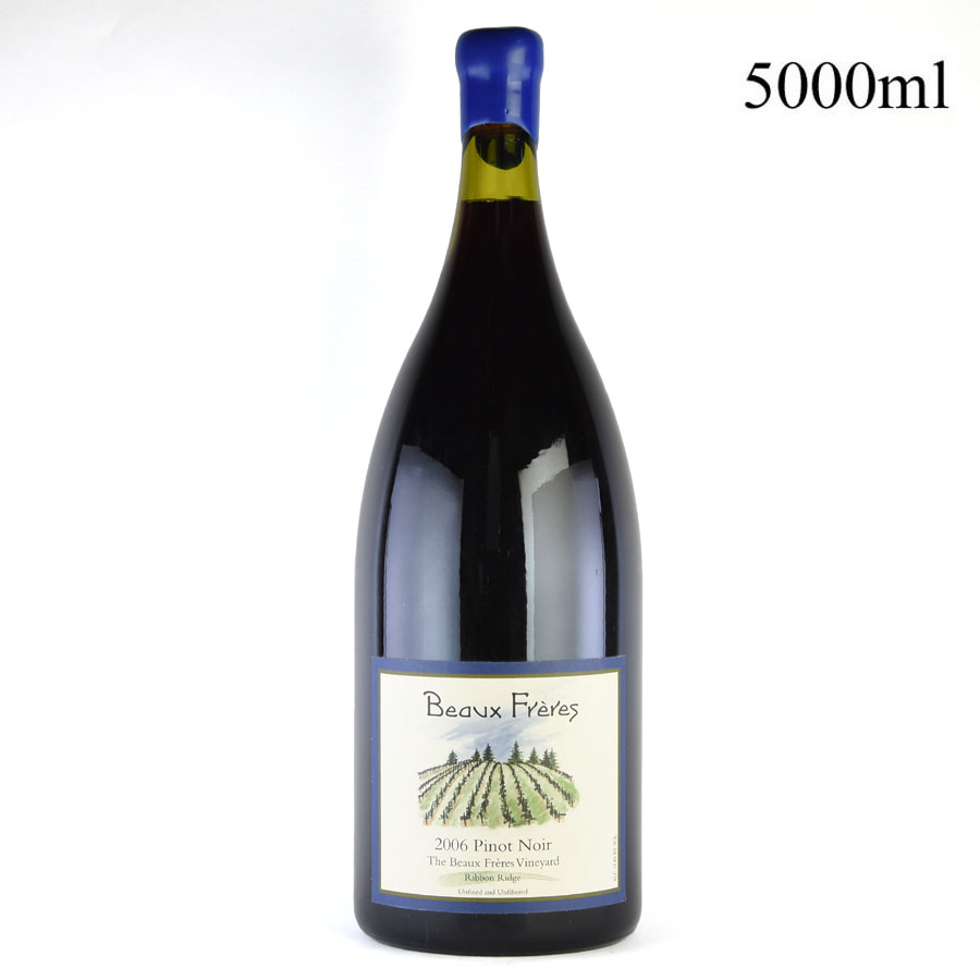 2006 ボー・フレール ピノ・ノワール ボー・フレール・ヴィンヤード リボン・リッジ 5000ml ※ロウキャップ割れ[のこり1本]