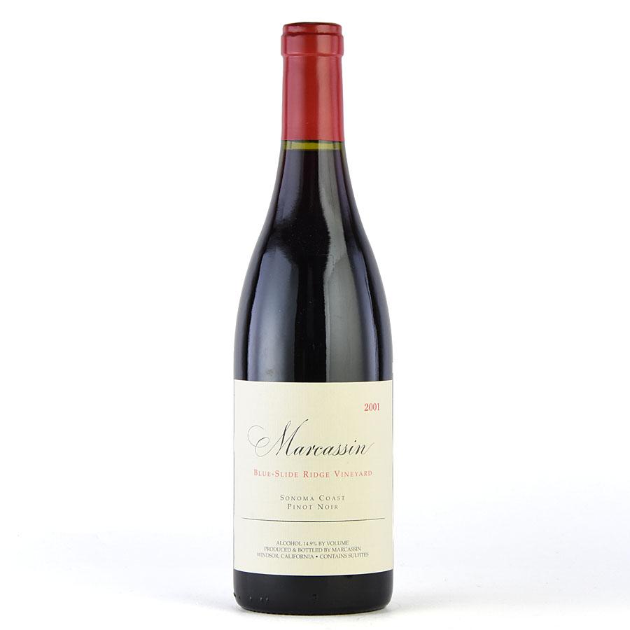 [2001] ピノ・ノワール ブルー・スライド・リッジ・ヴィンヤードマーカッシン 750mlBlue Slide Ridge Vineyard Pinot Noir Marcassin