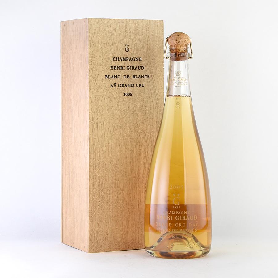 アンリ ジロー ブラン ド ブラン 2005 木箱入り オリジナルオープナー付 アンリジロー アンリ・ジロー シャンパン シャンパーニュ