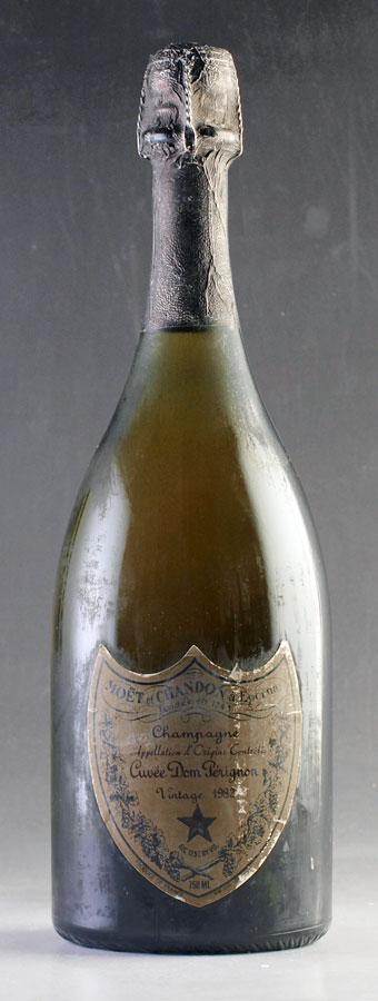 [1982] ドン・ペリニヨン ヴィンテージDom Perignon Vintage 750ml【ドンペリ ドンペリニヨン ドンペリニョン シャンパン】[のこり1本]