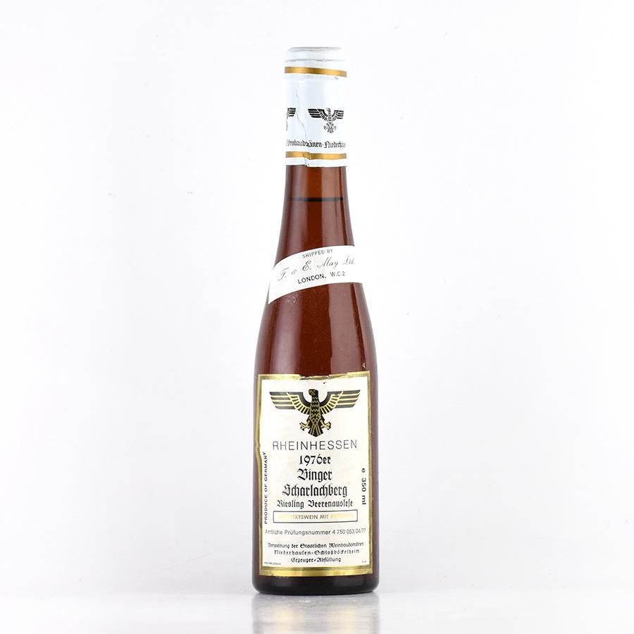 [1976] Staatlichen Weinbaudomanen Binger Scharlachberg Riesling Beerenauslese ハーフ 350ml