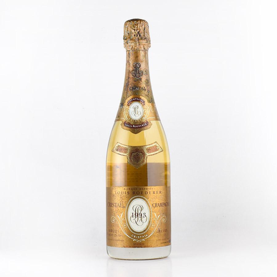 ルイ ロデレール クリスタル 1993 ラベル不良 ルイロデレール ルイ・ロデレール シャンパン シャンパーニュ