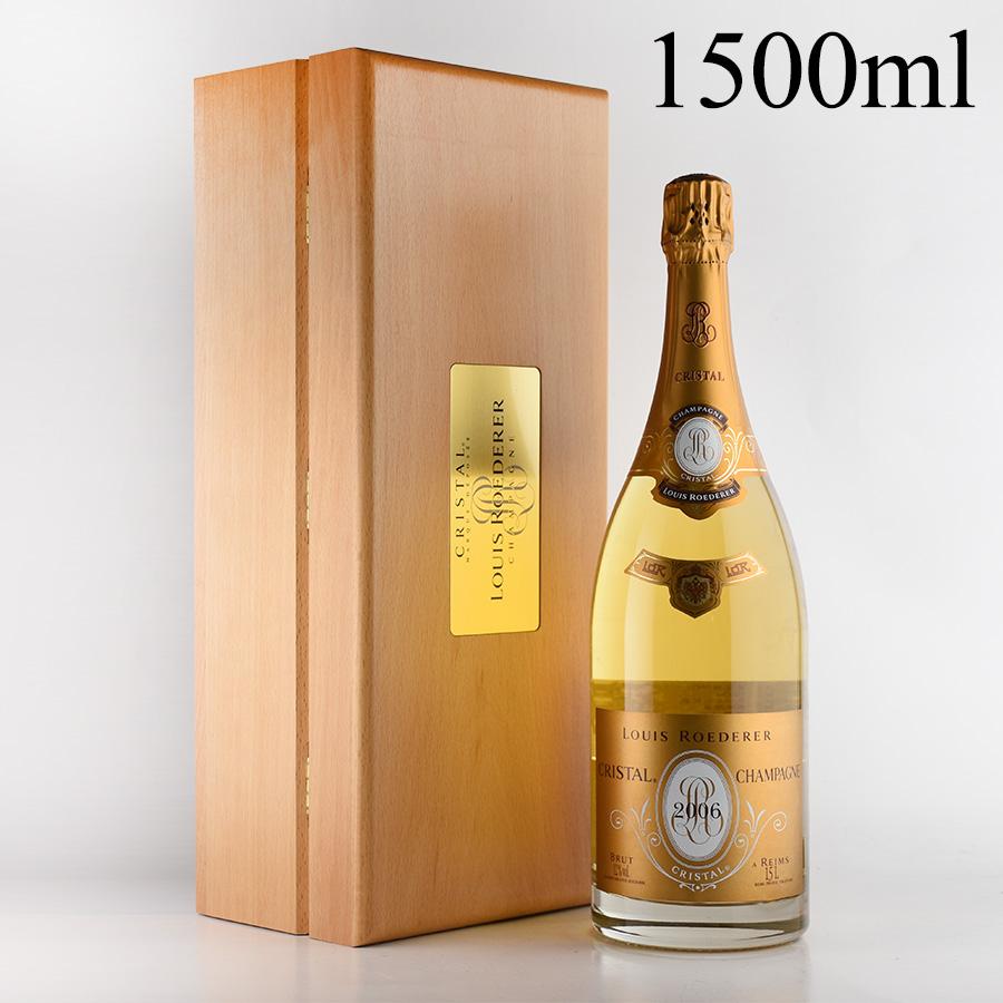 【延長SALE★特別価格】[2006] ルイ・ロデレールクリスタル マグナム 1500ml 【木箱入り】