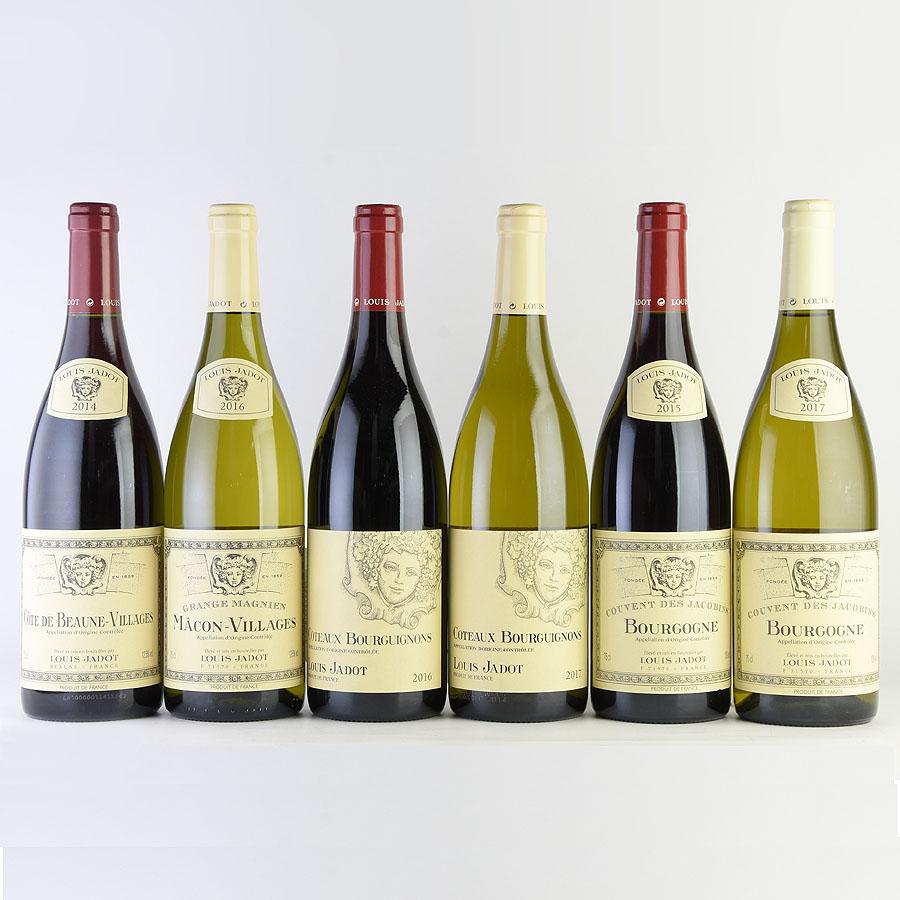 ルイ・ジャド ブルゴーニュ赤白ワイン6本セット
