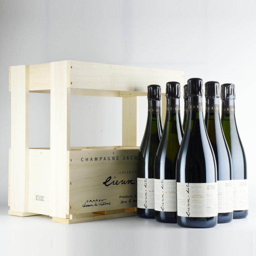 ジャックセロス コレクション リューディ 6本 セット NV ジャック・セロス シャンパン シャンパーニュ