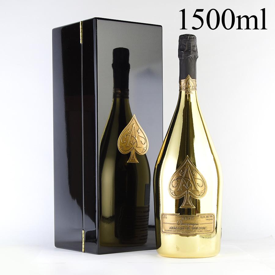 【延長SALE★特別価格】NV アルマン・ド・ブリニャックゴールド マグナム 1500ml 【ギフトボックス】