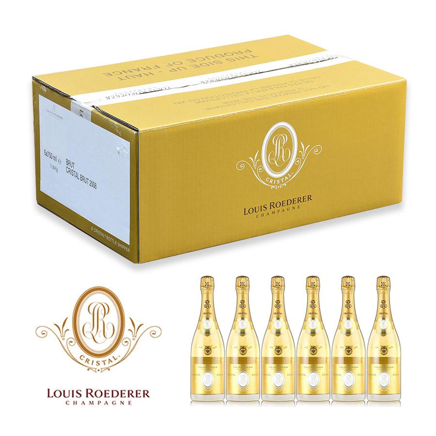 ルイ ロデレール クリスタル 2008 1ケース 6本 ケース買い ルイ・ロデレール シャンパン シャンパーニュ
