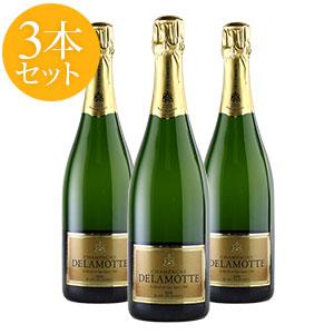 [2012] ドゥラモットブラン・ド・ブラン 3本セット【ワインセット】