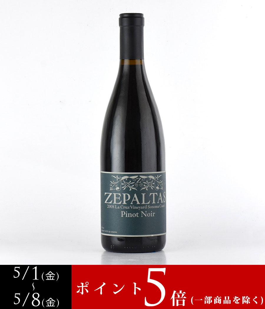 2008 ゼパルタスピノ・ノワール ラ・クルーズ・ヴィンヤード