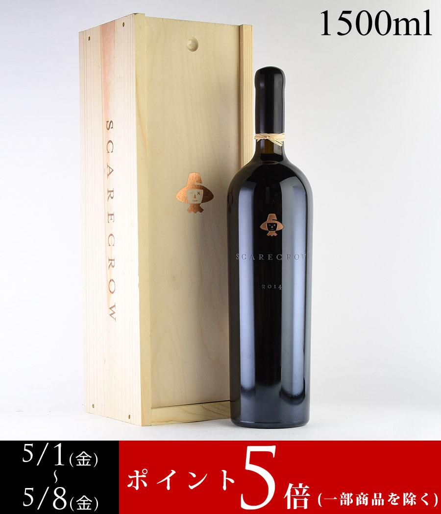 2014 スケアクロウカベルネ・ソーヴィニヨン マグナム 1500ml 【木箱入り】