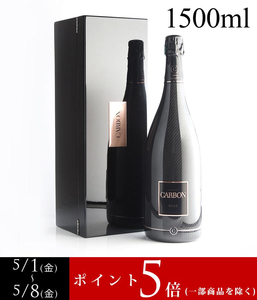 NV シャンパーニュ・カルボン【カーボン】ロゼ マグナム 1500ml 【ギフトボックス】