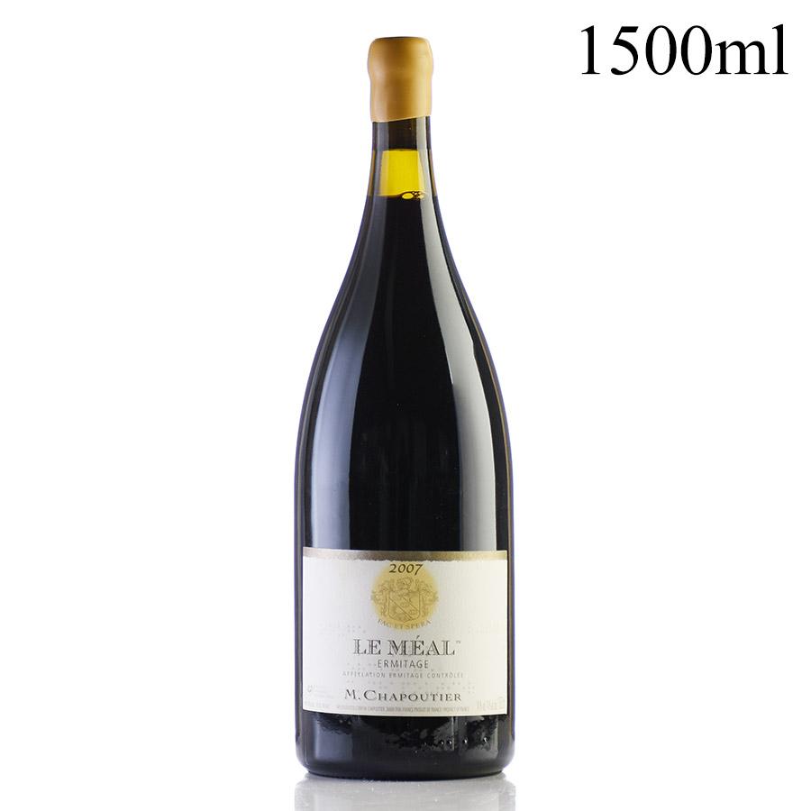 シャプティエ エルミタージュ ルージュ ル メアル 2007 マグナム 1500ml フランス ローヌ 赤ワイン[のこり1本]スーパーSALE★特別価格