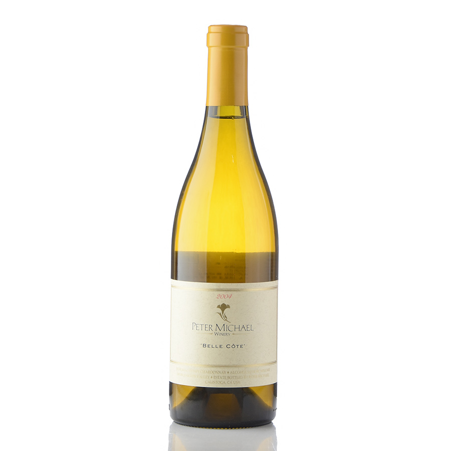 ピーター マイケル シャルドネ ベル コート 2004 カリフォルニア 白ワイン