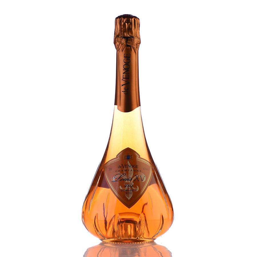 ドゥ ヴノージュ ルイ15世 ロゼ 2002 キャンズ シャンパン シャンパーニュ 新入荷