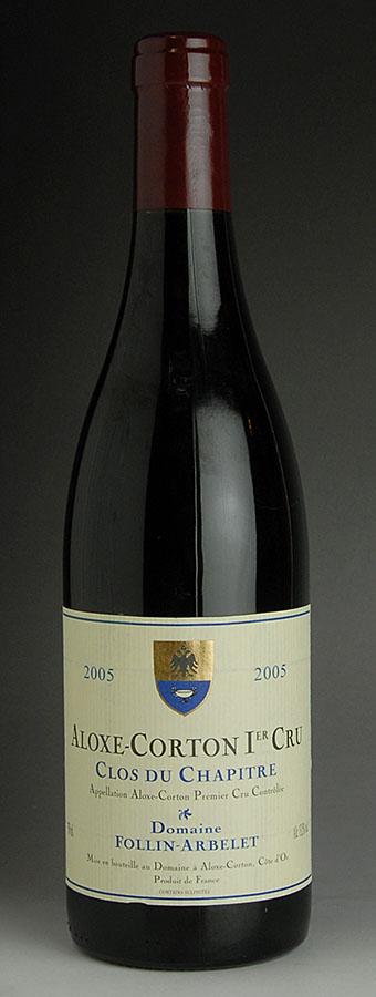 [2005] aloxe-corton Clos-du-シャピトル 1 forum Albee 750 ml
