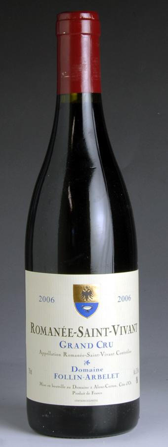 [2006] ロマネ・サン・ヴィヴァン フォラン・アルベレ VIVANT ST ROMANEE ST [2006] VIVANT FOLLIN ARBELET, DSKワイン:c88a6289 --- m.vacuvin.hu