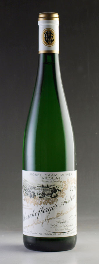-[2006] Egon Muller sharzhofberger Riesling Auslese # 10 750ml Scharzhofberger Riesling Auslese Egon Muller