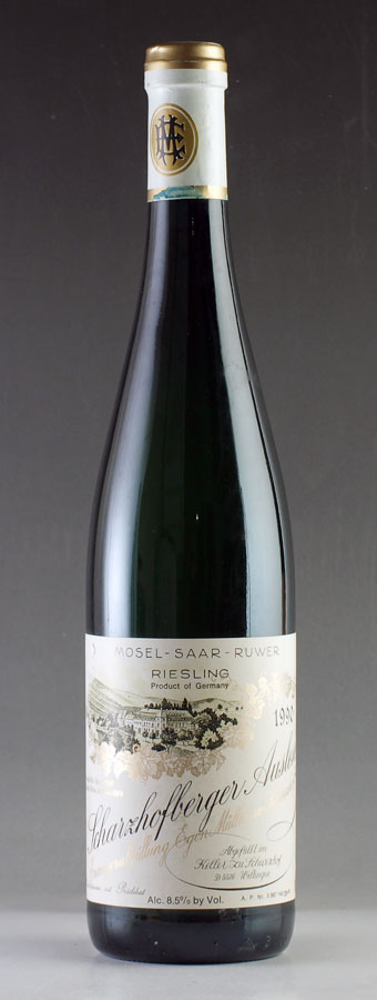 [1990] Egon Muller Scharzhofberger Riesling Auslese 伊慕沙兹堡雷司令精选白葡萄酒750ml