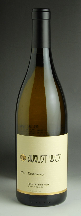 [2011] August West Russian-River-Valley Chardonnay 750 ml August West Russian River Valley Chardonnay