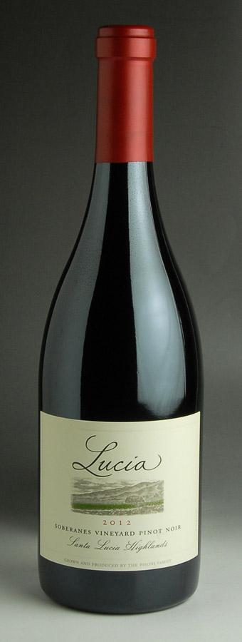 [2012] pisoni Lucia SLH Soberanes vineyard Pinot Noir 750 ml Pisoni Lucia SLH Soberanes Vineyard Pinot Noir