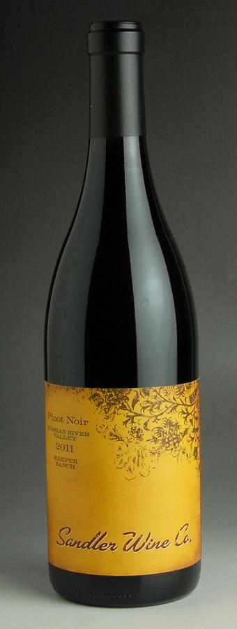 [2011] Sandler Kiefer lunch-Russian-River-Valley Pinot Noir 750 ml Sandler Wine Company Sandler Keefer Ranch Russian River Valley Pinot Noir
