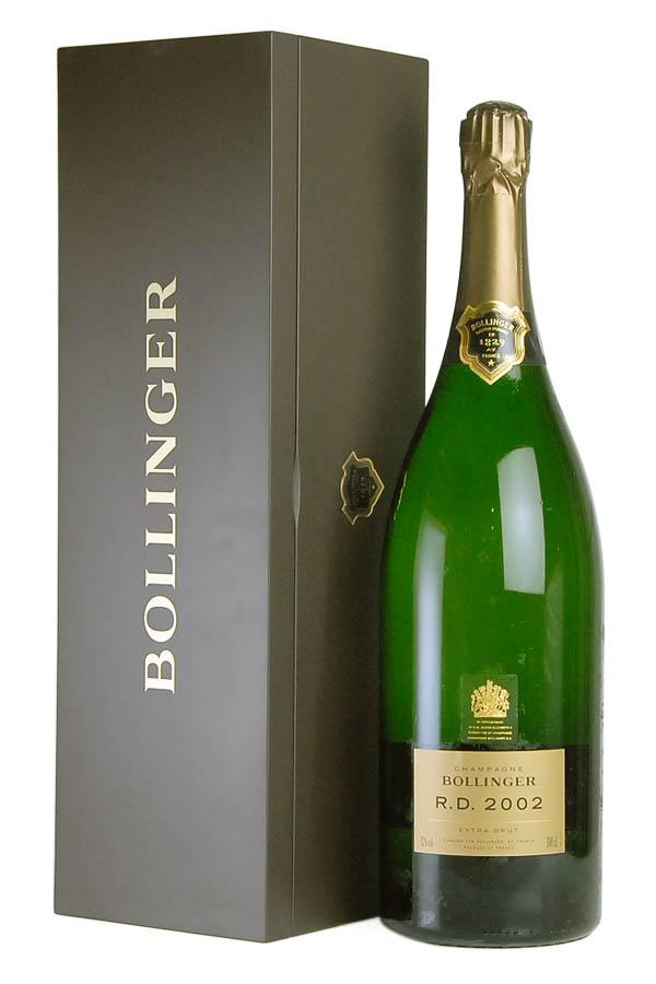 2002 ボランジェ アール ディー ジェロボアム 【正規品】Bollinger R.D. 3000ml[のこり1本]