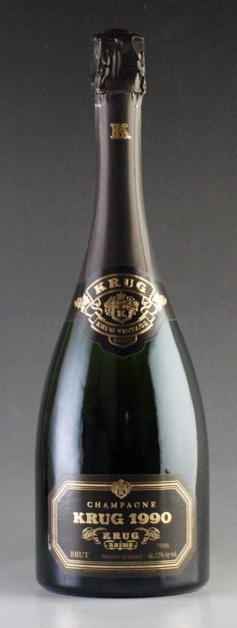 [1990] クリュッグ ヴィンテージ 【箱なし】 Krug Vintage 750ml