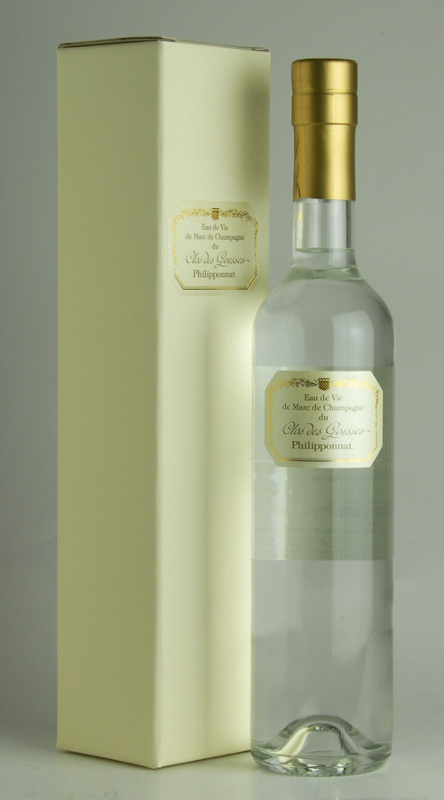 Eau-de-vie-de-Mar-de-Clos-de-ゴワセ original gift box Filipina 500 ml Eau de Vie de Marc de Clos des Goisses Philipponnat