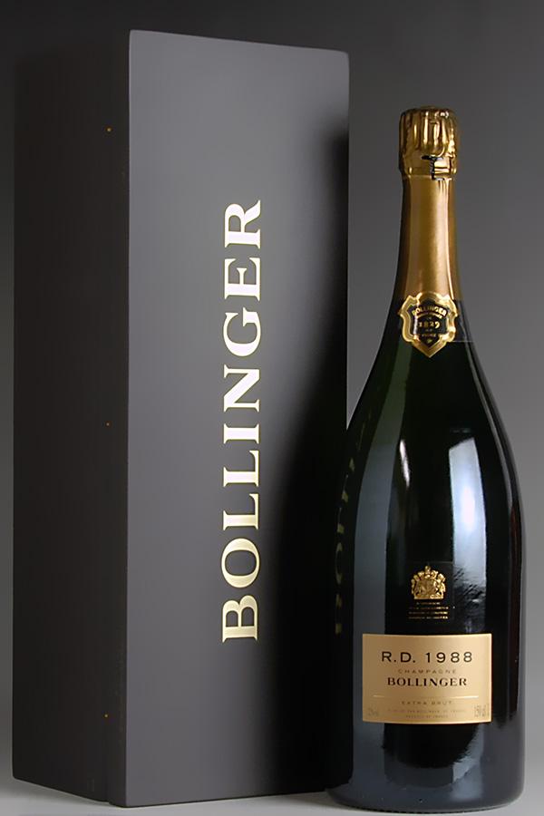 [1988] ボランジェ アール ディー マグナム 【正規品】【木箱入り】Bollinger R.D. 1500ml[のこり1本]