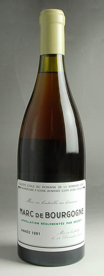[1991] マール・ド・ブルゴーニュ ロマネ・コンティMarc de Bourgogne DRC