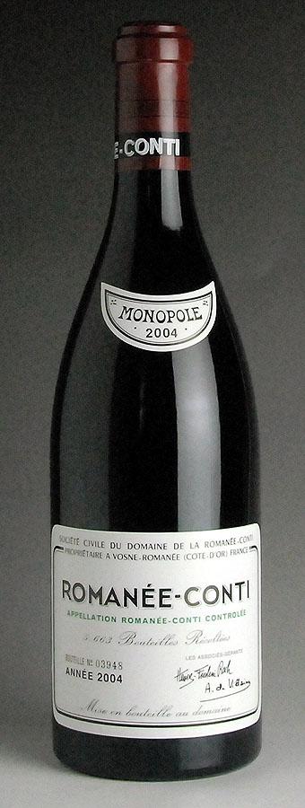 2004 Domaine de la Romanee Conti (DRC) - Romanee Conti