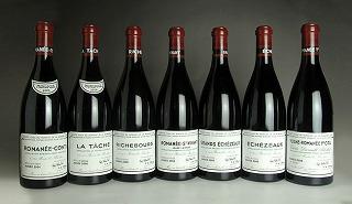 2006 Domaine de la Romanee Conti (DRC) - Mini Assortment (RC/LT/R/RS/GE/E/VR total 7btl)