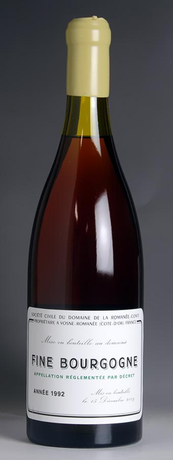1992 Domaine de la Romanee Conti (DRC) - Fine de Bourgogne