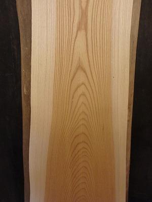 一枚板 けやき 無垢 カウンター 天板 耳付 木材 材木