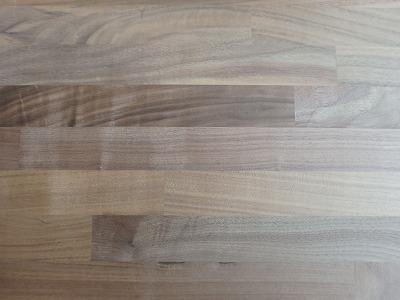 ウォルナット 集成 天板 カウンター などに 25mm厚 【送料無料】 木材 材木 1500×350×25