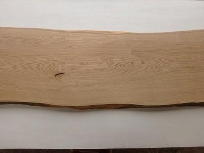 【正規品直輸入】 デスク 無垢:一枚板天板の販売・加工 勝又木材 栗 一枚板 カウンター テーブル 木材 耳付 天板 材木 奥行幅600前後-木材・建築資材・設備