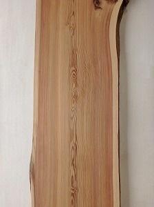 一枚板 天杉 高樹齢杉 カウンター デスク 無垢 天板 耳付 材木 木材