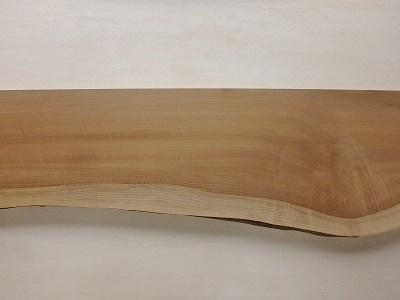 一枚板 朴 無垢 カウンター 天板 片耳付 木材 材木