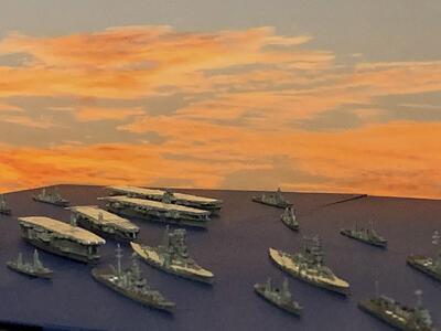 完成品 ミッドウェー島付きの海面拡張版 販売 ミッドウェー作戦 南雲機動部隊セット 1 フジミ模型 プラモデル 3000 軍港ジオラマ模型 集める軍艦 メーカー公式